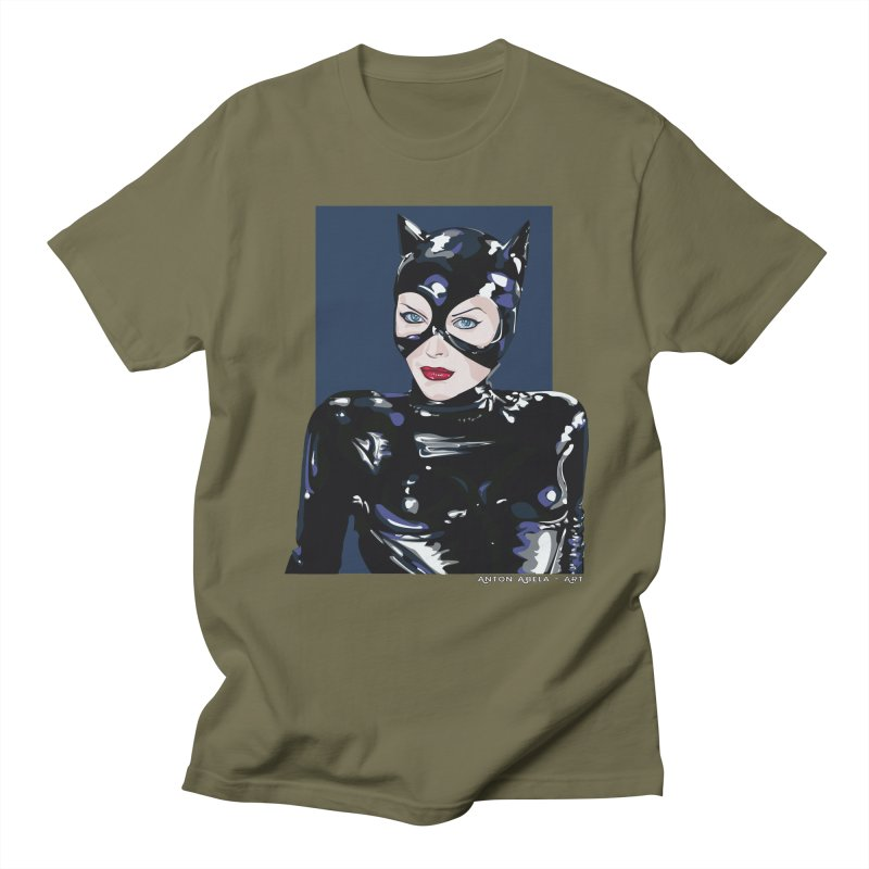 Meow! The Greatest Men's T-shirt by AntonAbela-Art's Artist Shop