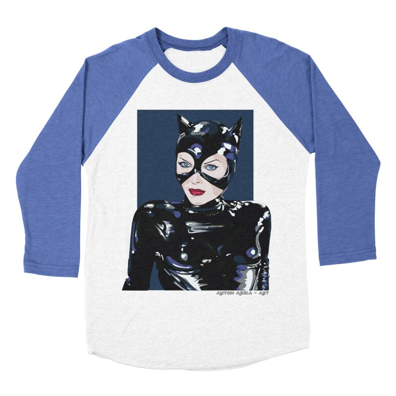 Meow! The Greatest Women's Baseball Triblend T-Shirt by AntonAbela-Art's Artist Shop