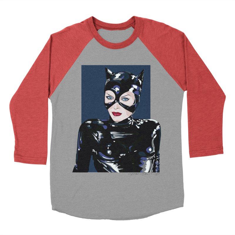 Meow! The Greatest Women's Baseball Triblend Longsleeve T-Shirt by AntonAbela-Art's Artist Shop