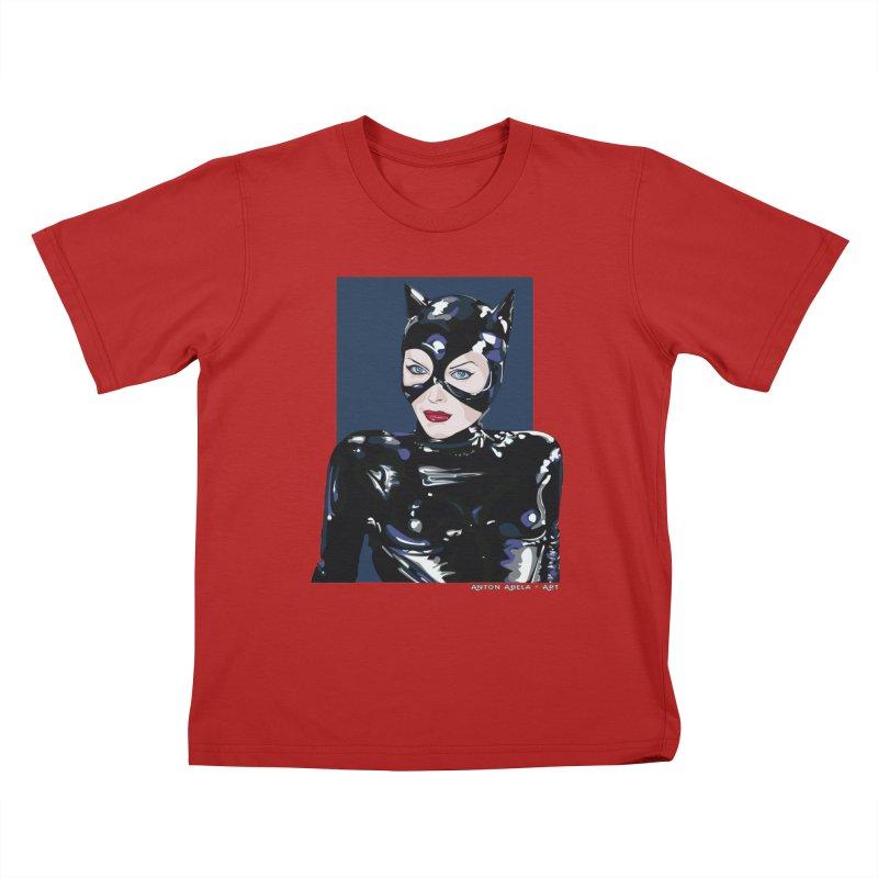 Meow! The Greatest Kids T-shirt by AntonAbela-Art's Artist Shop
