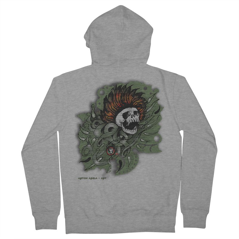 The Innate Spirit Men's Zip-Up Hoody by AntonAbela-Art's Artist Shop