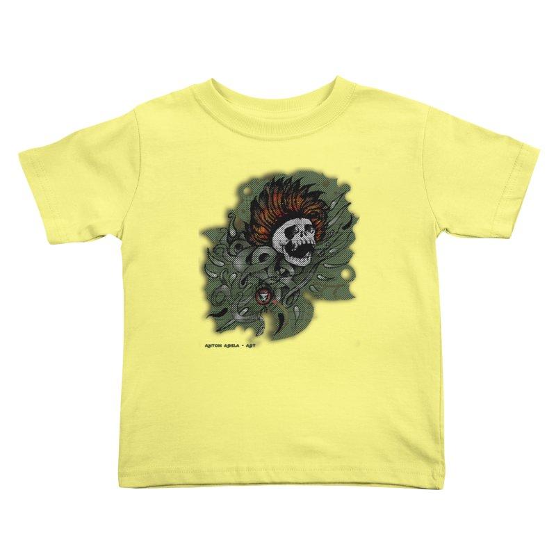 The Innate Spirit Kids Toddler T-Shirt by AntonAbela-Art's Artist Shop