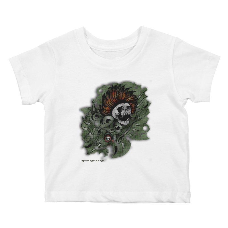 The Innate Spirit Kids Baby T-Shirt by AntonAbela-Art's Artist Shop