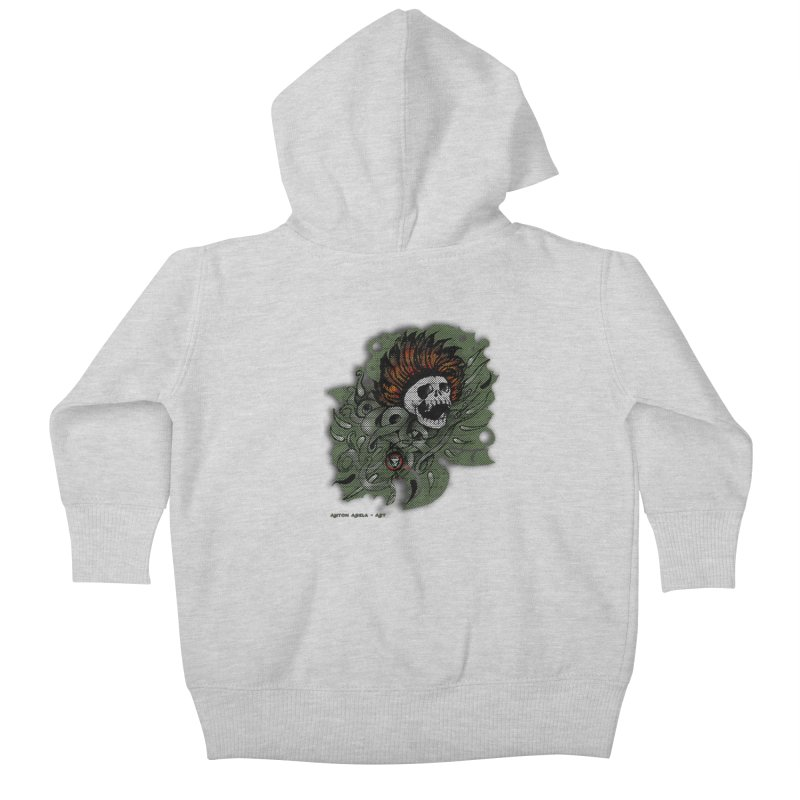 The Innate Spirit Kids Baby Zip-Up Hoody by AntonAbela-Art's Artist Shop