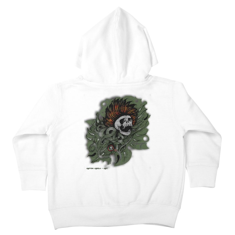 The Innate Spirit Kids Toddler Zip-Up Hoody by AntonAbela-Art's Artist Shop
