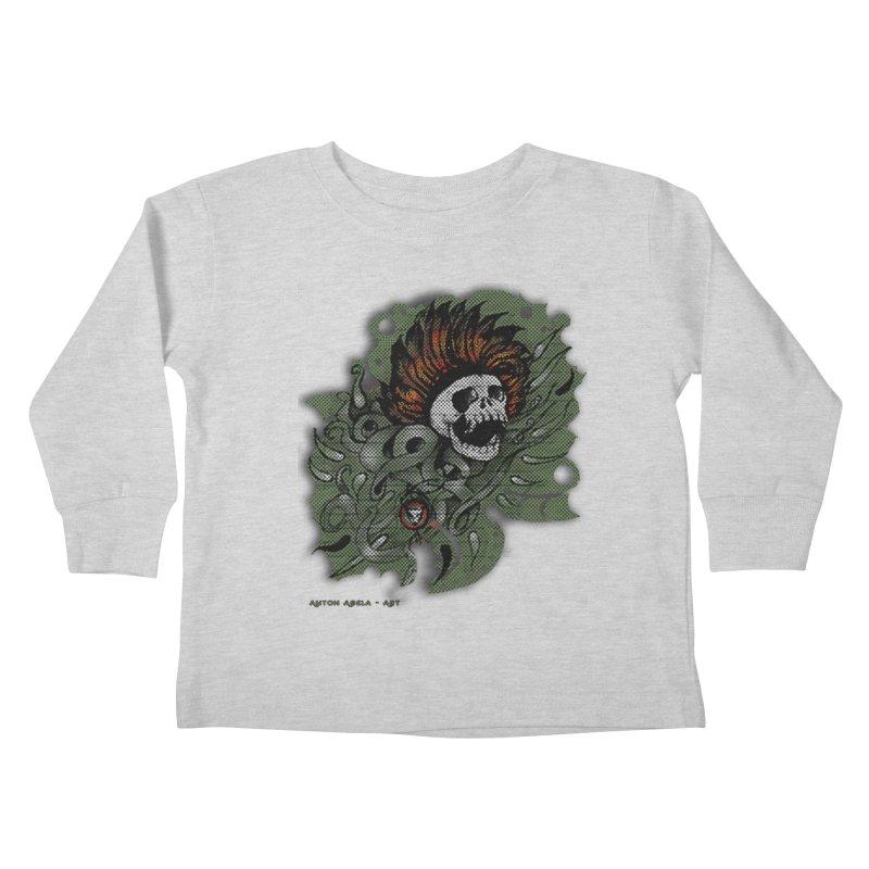 The Innate Spirit Kids Toddler Longsleeve T-Shirt by AntonAbela-Art's Artist Shop