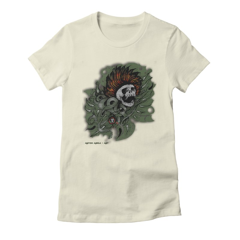 The Innate Spirit Women's Fitted T-Shirt by AntonAbela-Art's Artist Shop