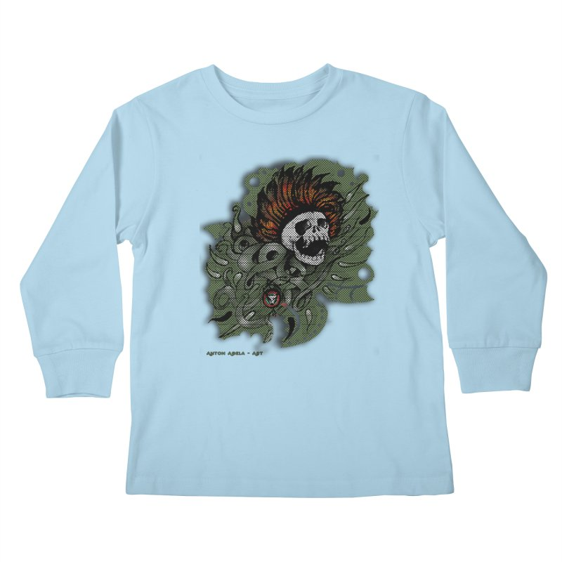 The Innate Spirit Kids Longsleeve T-Shirt by AntonAbela-Art's Artist Shop