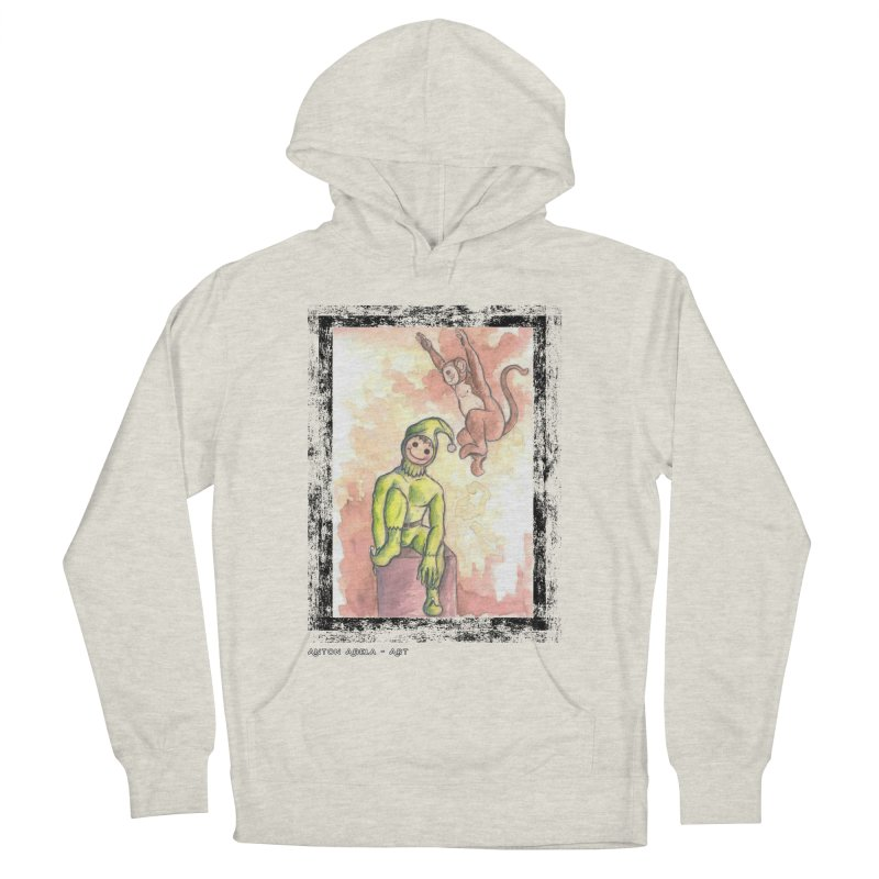 The Unexpected Leap Men's Pullover Hoody by AntonAbela-Art's Artist Shop