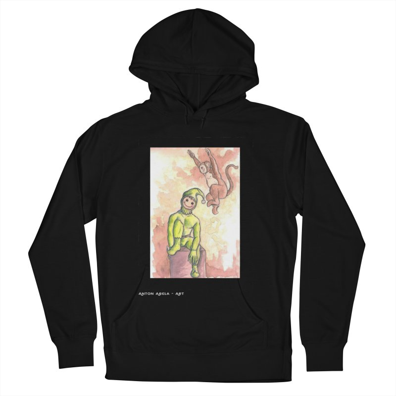 The Unexpected Leap Men's Pullover Hoody by AntonAbela-Art's Artist Shop