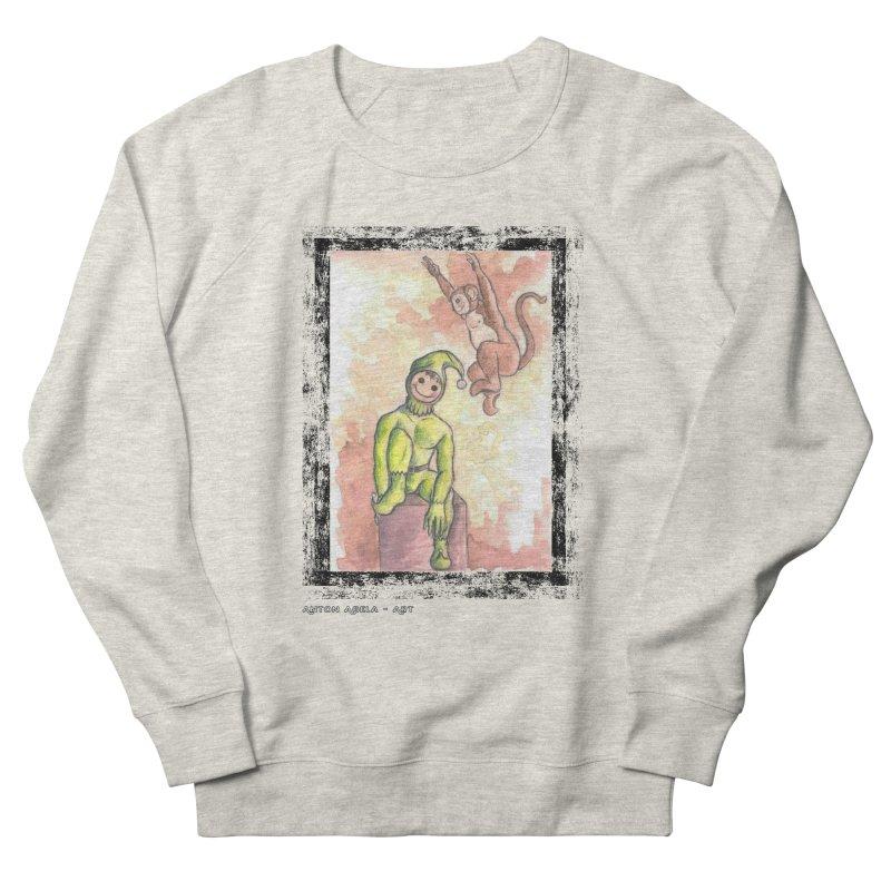 The Unexpected Leap Women's Sweatshirt by AntonAbela-Art's Artist Shop