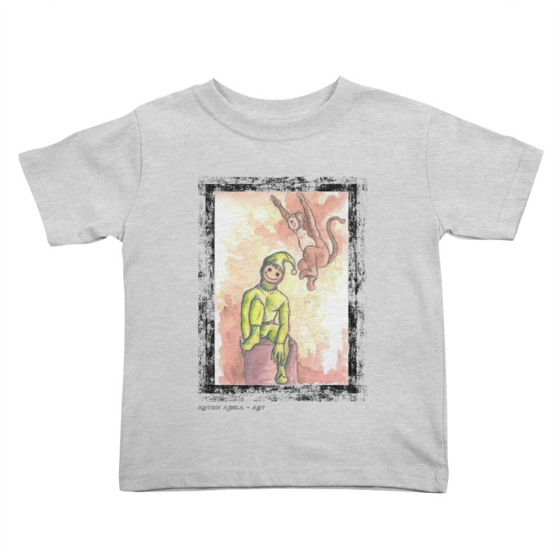 The Unexpected Leap Kids Toddler T-Shirt by AntonAbela-Art's Artist Shop