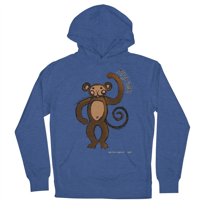 !! Munkie Power !! Men's Pullover Hoody by AntonAbela-Art's Artist Shop