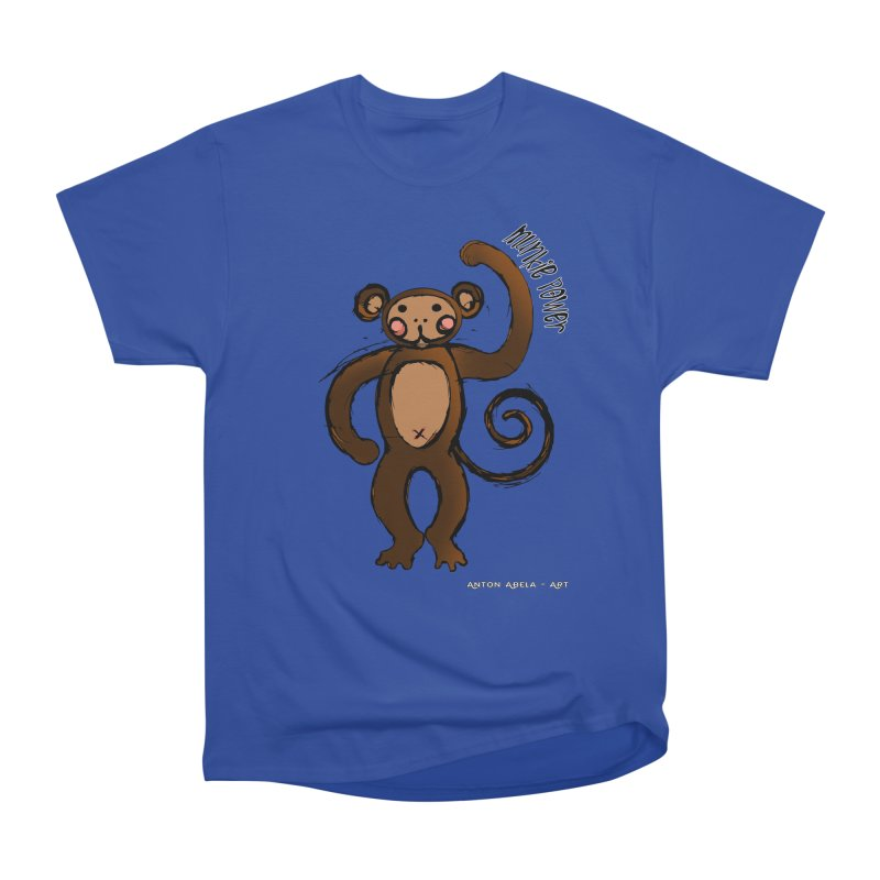 !! Munkie Power !! Women's Classic Unisex T-Shirt by AntonAbela-Art's Artist Shop