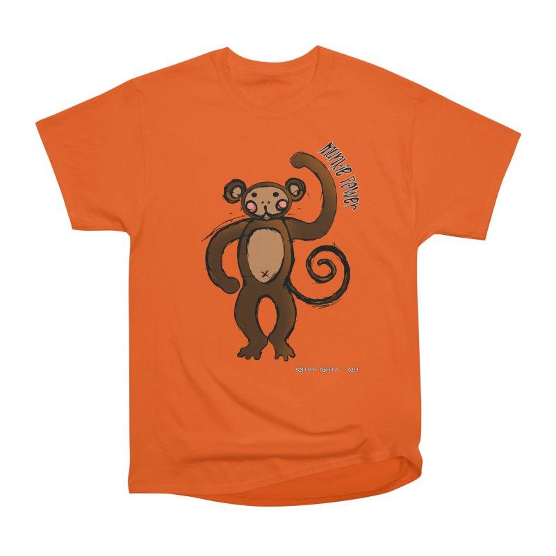 !! Munkie Power !! Men's Classic T-Shirt by AntonAbela-Art's Artist Shop
