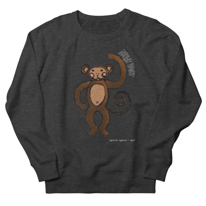 !! Munkie Power !! Men's Sweatshirt by AntonAbela-Art's Artist Shop