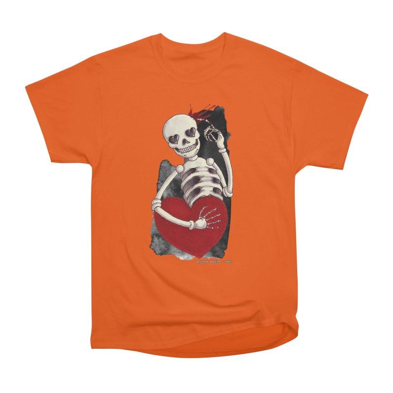 Grimly in Love Men's Classic T-Shirt by AntonAbela-Art's Artist Shop