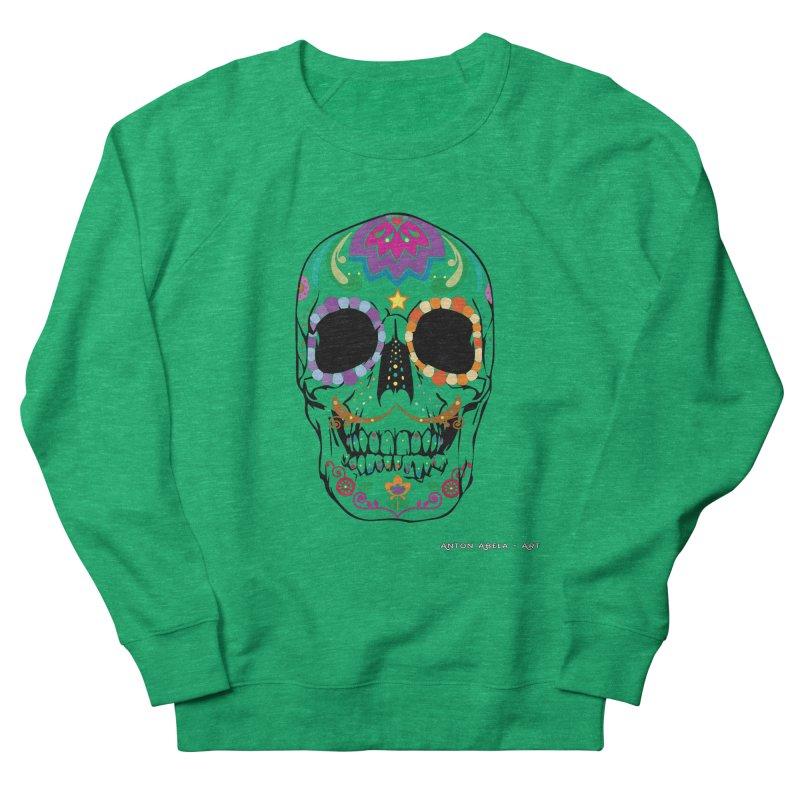 Calavera Women's Sweatshirt by AntonAbela-Art's Artist Shop