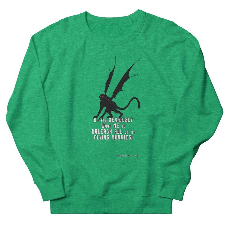 Soon Unleashing Flying Munkies! Women's Sweatshirt by AntonAbela-Art's Artist Shop