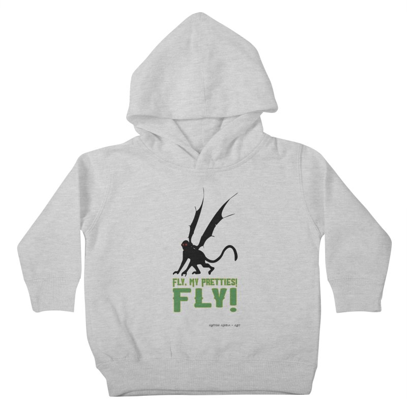 Fly My Pretties! Kids Toddler Pullover Hoody by AntonAbela-Art's Artist Shop