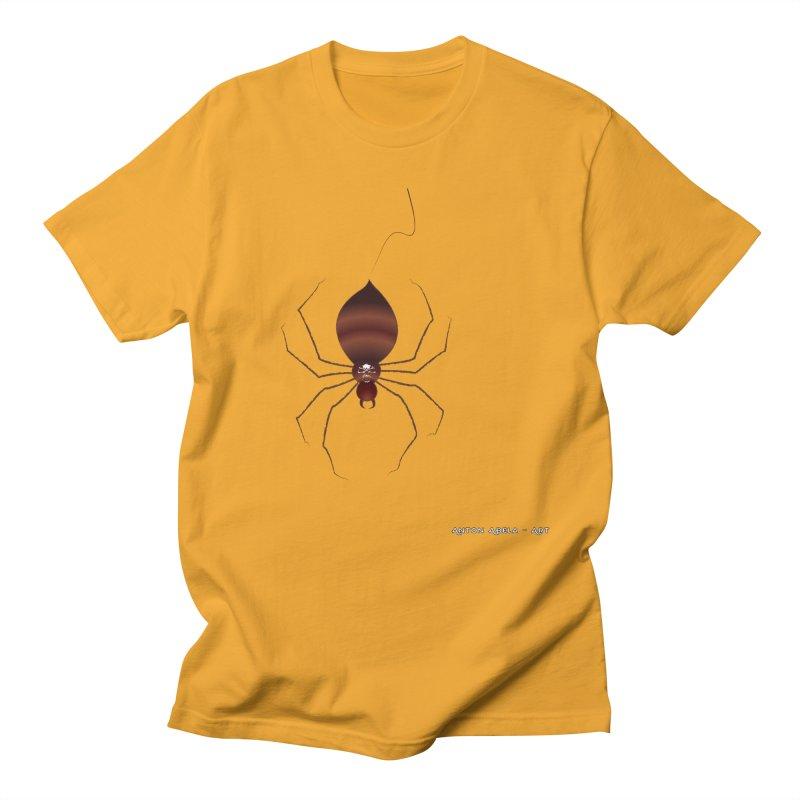 Itsy Bitsy Deadly Spider! Men's T-Shirt by AntonAbela-Art's Artist Shop