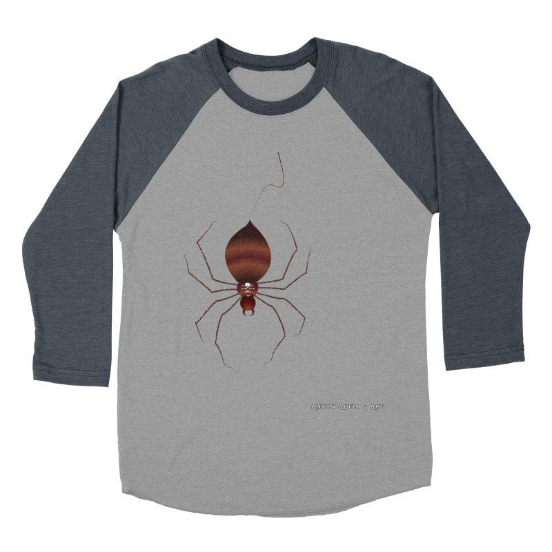 Itsy Bitsy Deadly Spider! Men's Baseball Triblend T-Shirt by AntonAbela-Art's Artist Shop