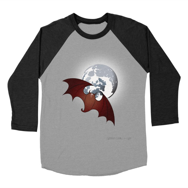 The One That Hovers Men's Baseball Triblend T-Shirt by AntonAbela-Art's Artist Shop