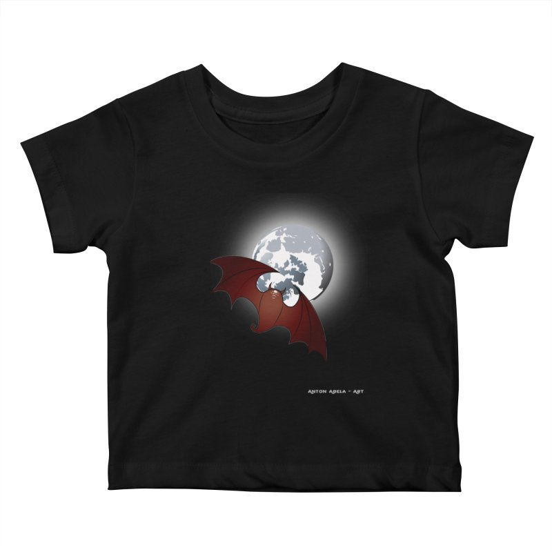 The One That Hovers Kids Baby T-Shirt by AntonAbela-Art's Artist Shop