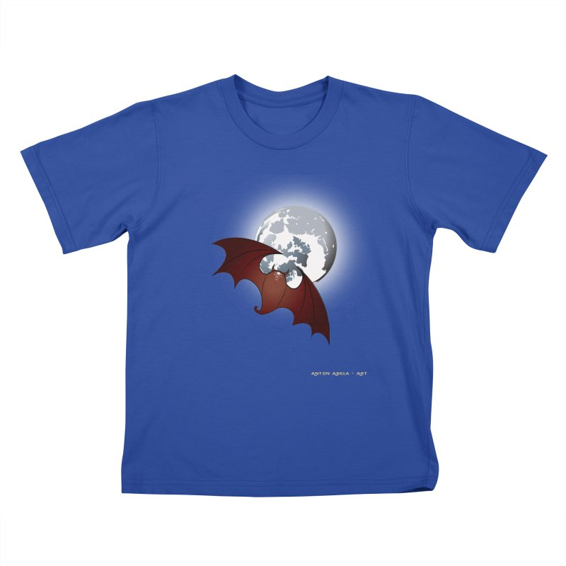 The One That Hovers Kids T-Shirt by AntonAbela-Art's Artist Shop