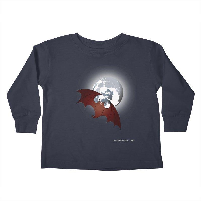 The One That Hovers Kids Toddler Longsleeve T-Shirt by AntonAbela-Art's Artist Shop