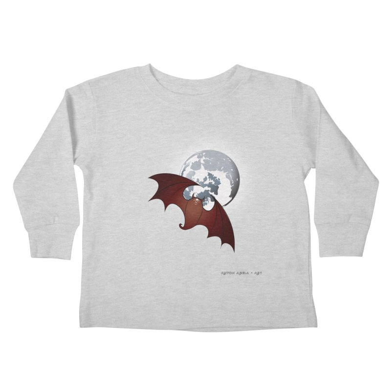 The One That Hovers Kids Toddler Longsleeve T-Shirt by AntonAbela-Art's Artist Shop