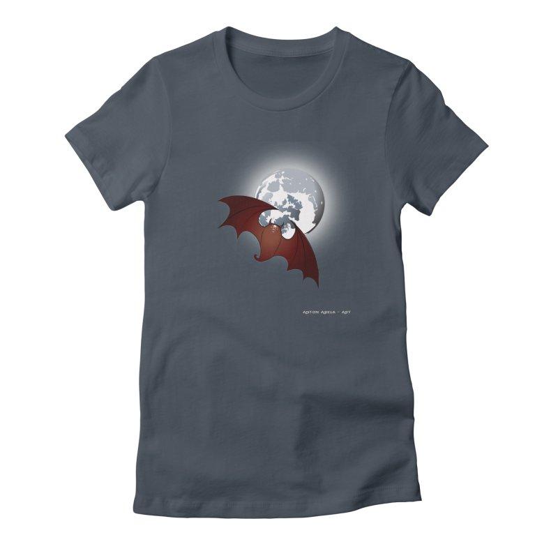 The One That Hovers Women's T-Shirt by AntonAbela-Art's Artist Shop