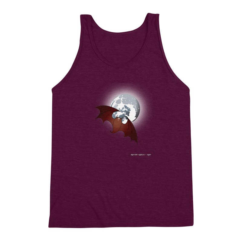 The One That Hovers Men's Triblend Tank by AntonAbela-Art's Artist Shop