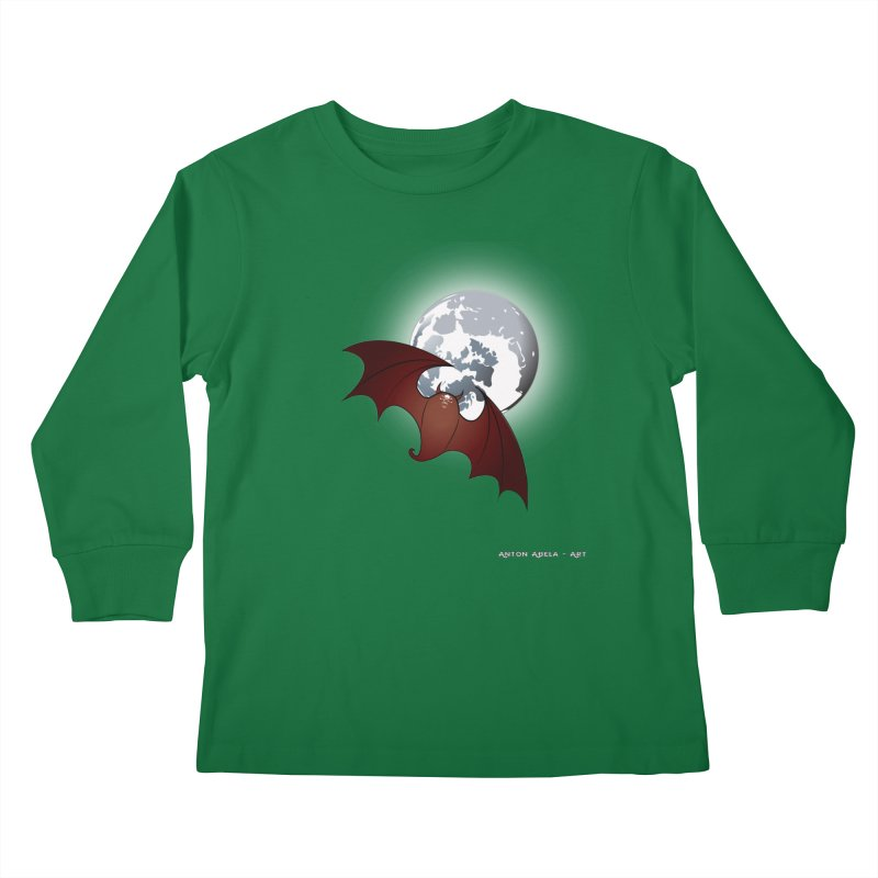 The One That Hovers Kids Longsleeve T-Shirt by AntonAbela-Art's Artist Shop
