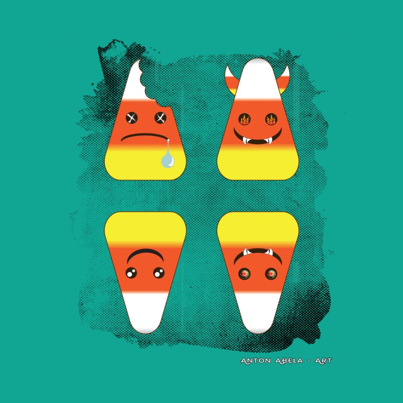 4 Candy Corns by AntonAbela-Art's Artist Shop