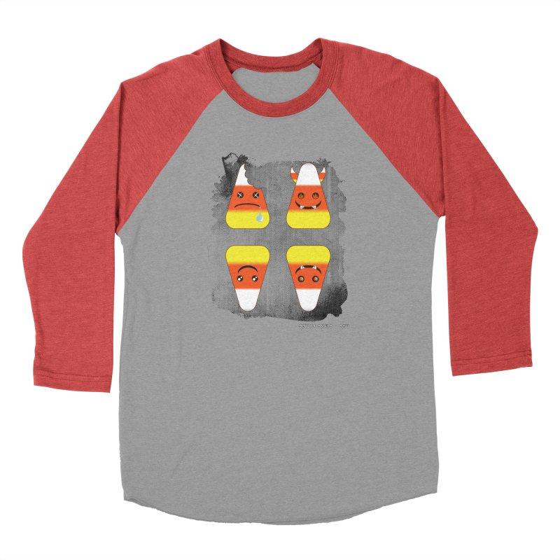 4 Candy Corns Men's Longsleeve T-Shirt by AntonAbela-Art's Artist Shop