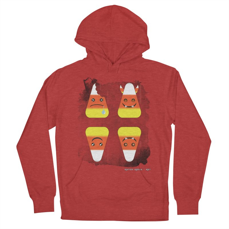 4 Candy Corns Women's French Terry Pullover Hoody by AntonAbela-Art's Artist Shop