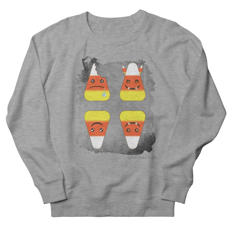 4 Candy Corns Men's French Terry Sweatshirt by AntonAbela-Art's Artist Shop