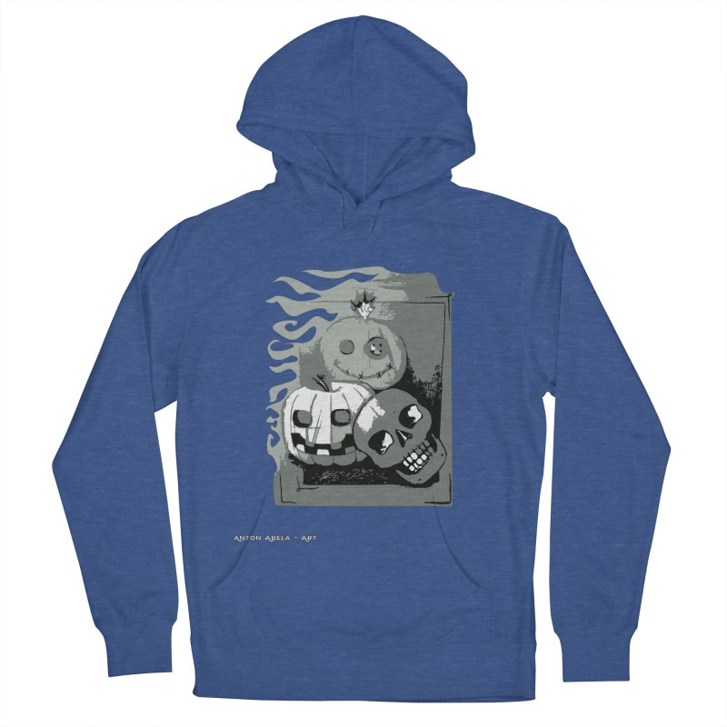 3 Best Buds Women's French Terry Pullover Hoody by AntonAbela-Art's Artist Shop