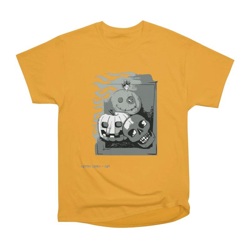 3 Best Buds Men's Heavyweight T-Shirt by AntonAbela-Art's Artist Shop