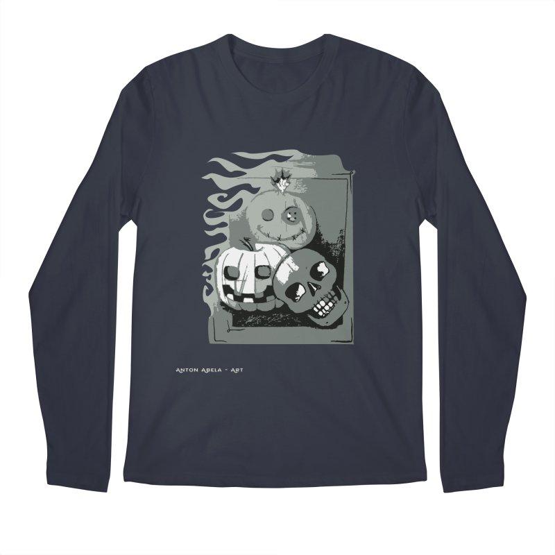 3 Best Buds Men's Regular Longsleeve T-Shirt by AntonAbela-Art's Artist Shop