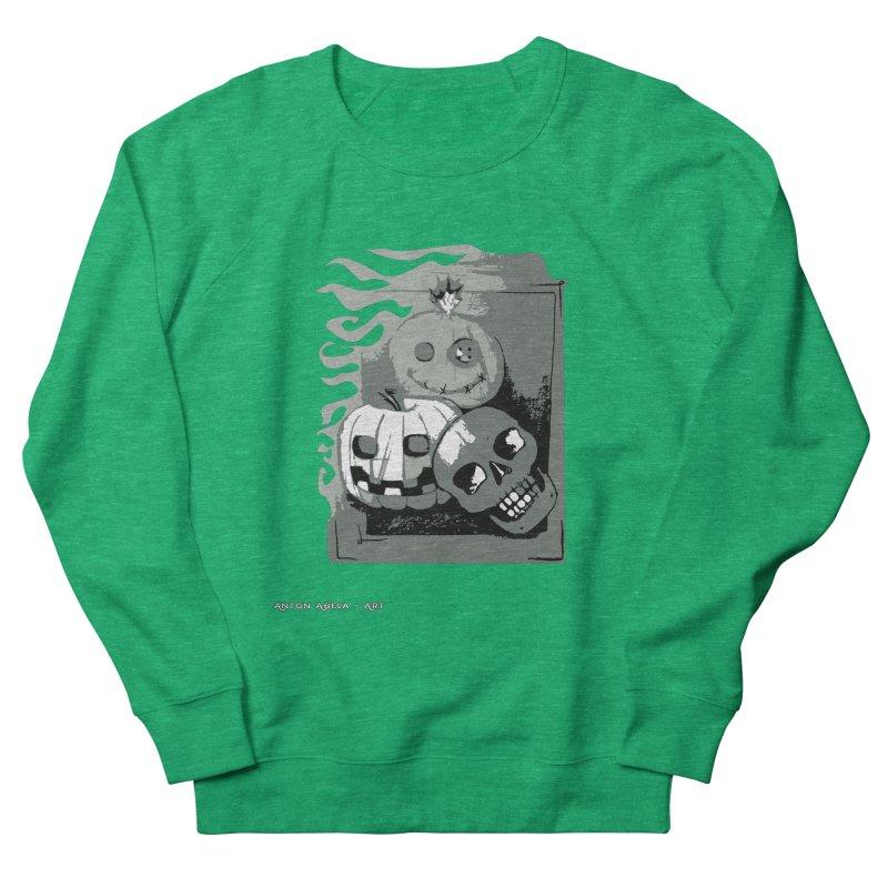 3 Best Buds Women's French Terry Sweatshirt by AntonAbela-Art's Artist Shop