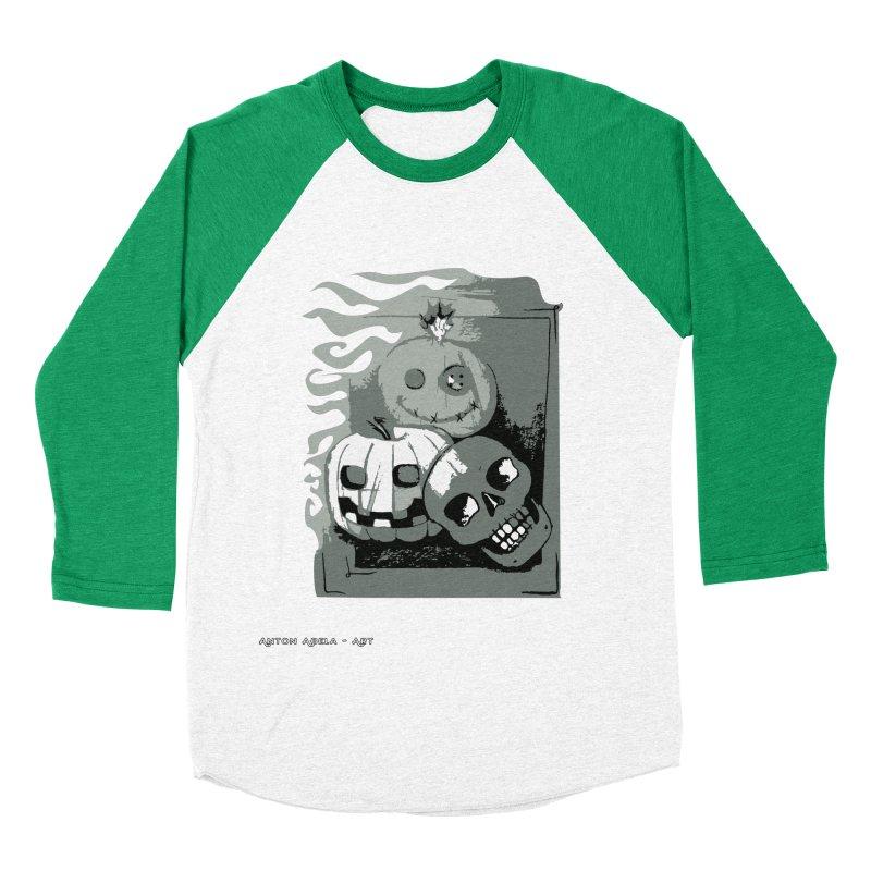3 Best Buds Women's Baseball Triblend Longsleeve T-Shirt by AntonAbela-Art's Artist Shop