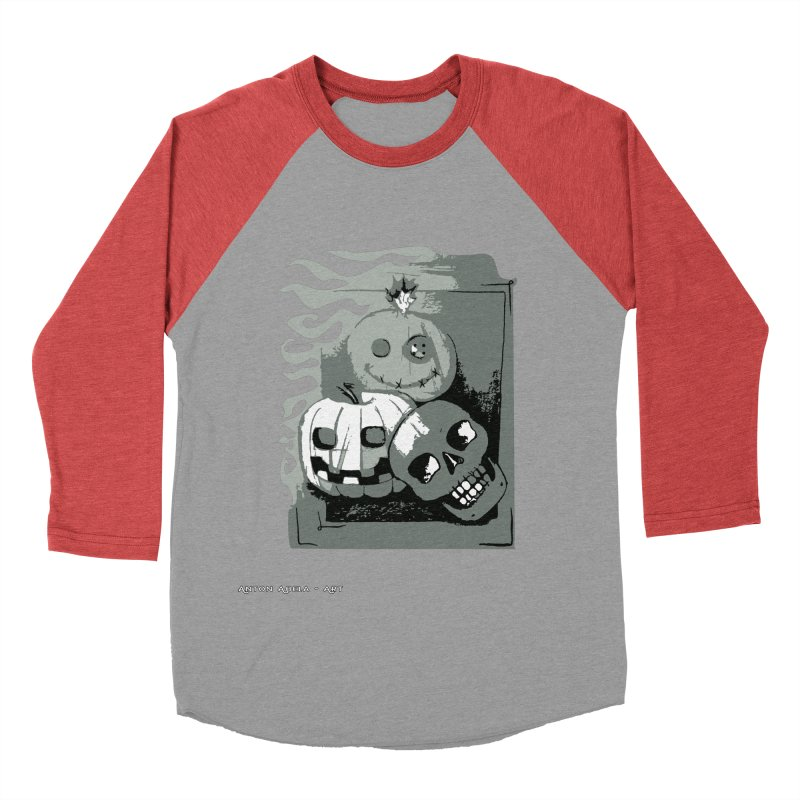 3 Best Buds Women's Baseball Triblend Longsleeve T-Shirt by AntonAbela-Art's Artist Shop