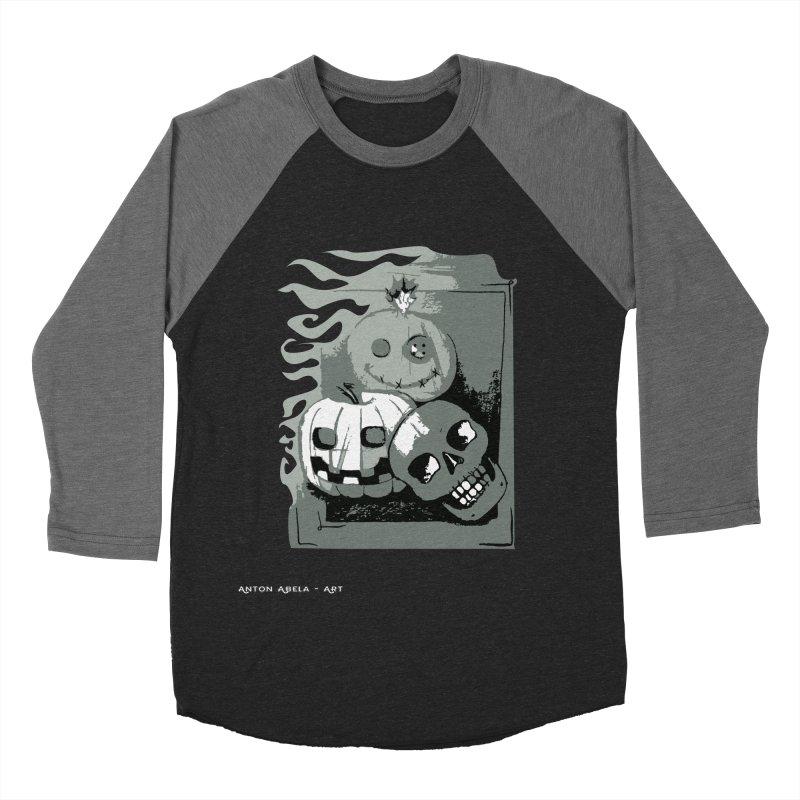3 Best Buds Men's Baseball Triblend T-Shirt by AntonAbela-Art's Artist Shop