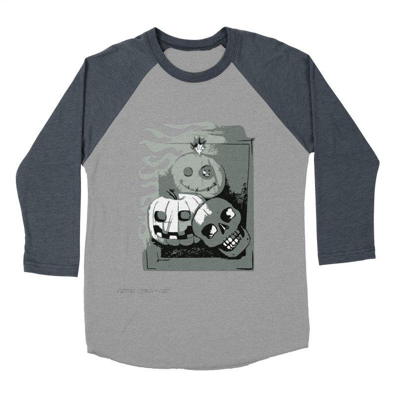 3 Best Buds Men's Baseball Triblend Longsleeve T-Shirt by AntonAbela-Art's Artist Shop