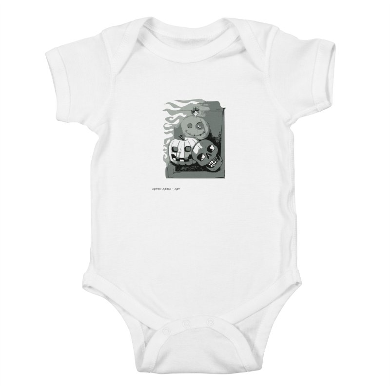3 Best Buds Kids Baby Bodysuit by AntonAbela-Art's Artist Shop