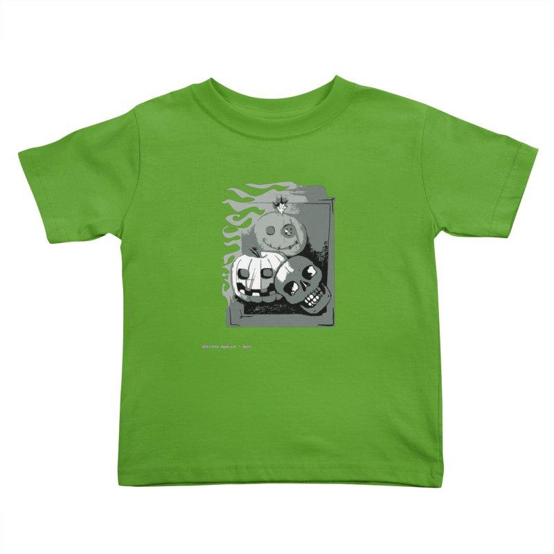 3 Best Buds Kids Toddler T-Shirt by AntonAbela-Art's Artist Shop