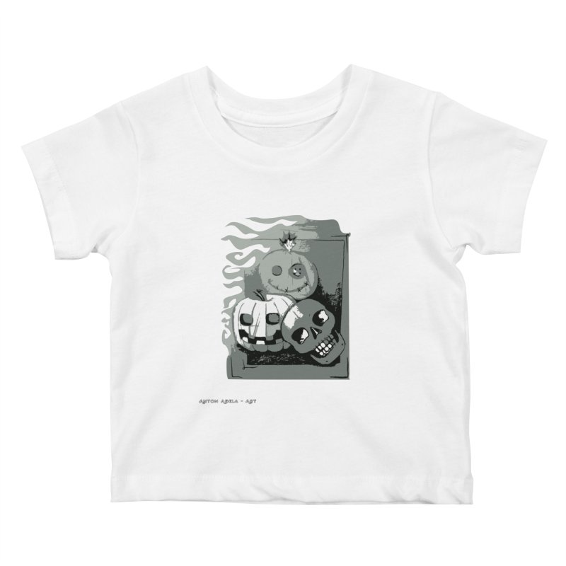 3 Best Buds Kids Baby T-Shirt by AntonAbela-Art's Artist Shop