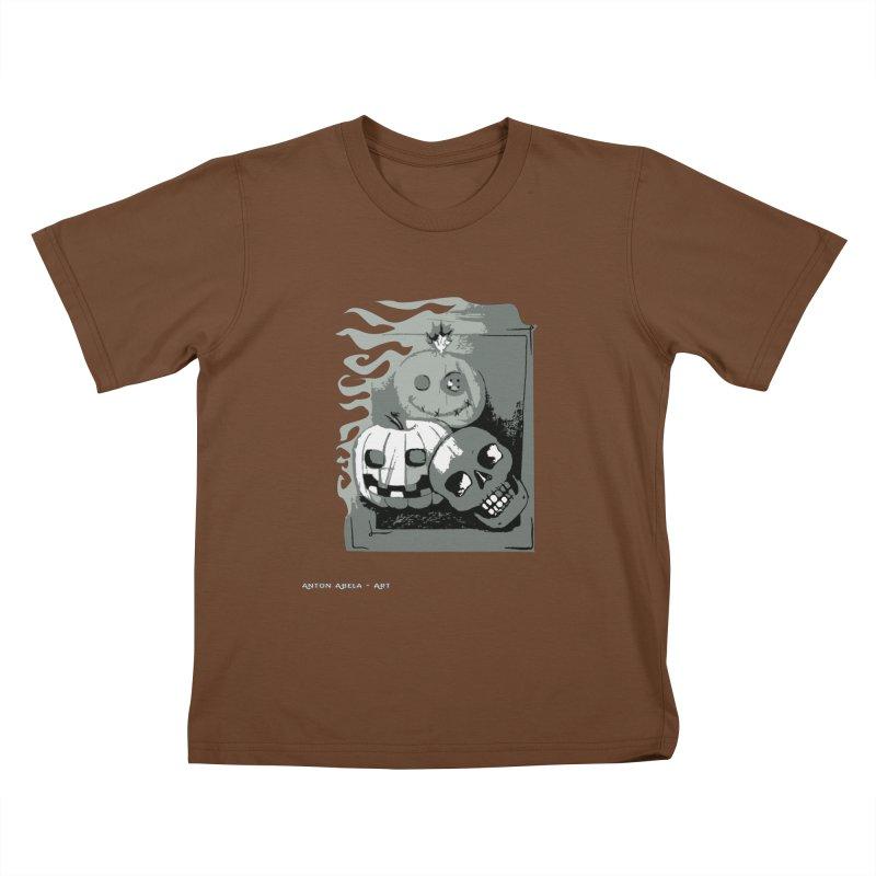 3 Best Buds Kids T-Shirt by AntonAbela-Art's Artist Shop